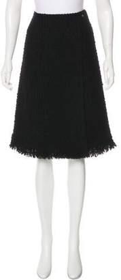 Chanel 2017 Paris-Cosmopolite Tweed Skirt