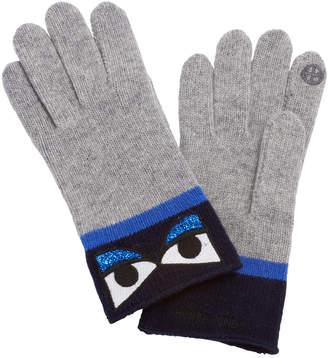 Henri Bendel Cashmere Eye Gloves