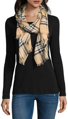 Fraas Oblong Plaid Scarf