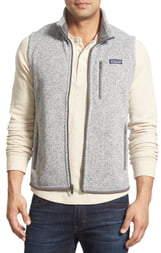 Patagonia Better Sweater Zip Front Vest