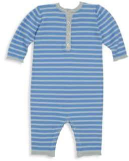Bonpoint Baby's Stripe-Print Cotton Overall