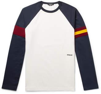 Calvin Klein Webbing-Trimmed Cotton-Jersey T-Shirt