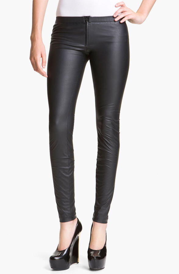 Theyskens' Theory 'Pittell Finap' Faux Leather Leggings