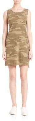 Current/Elliott Camo Muscle Tee Dress
