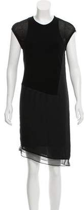 Helmut Lang Knee-Length Short Sleeve Dress