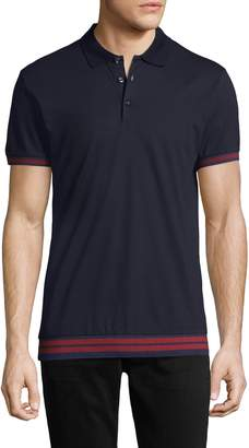 Antony Morato Men's Cotton Ribbed Polo