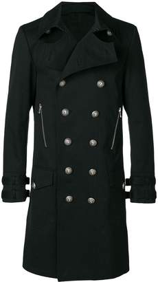 Balmain classic double-breasted coat