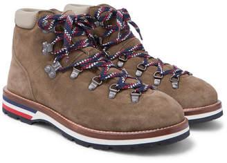 Moncler Peak Suede Boots - Mushroom