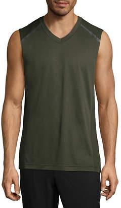 MSX BY MICHAEL STRAHAN Msx By Michael Strahan Mens V Neck Sleeveless Muscle T-Shirt