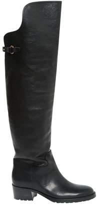 Lauren Ralph Lauren Black Leather Boots