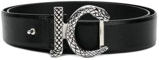 Just Cavalli snake buckle belt