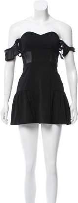 Lovers + Friends Off-The-Shoulder Mini Dress