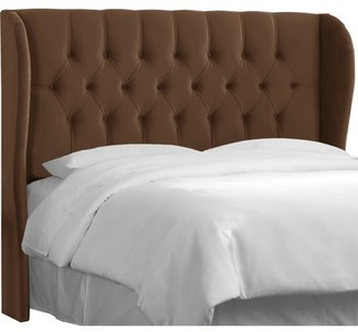 Skyline Furniture Tufted Wingback Headboard, Multiple Sizes and Colors