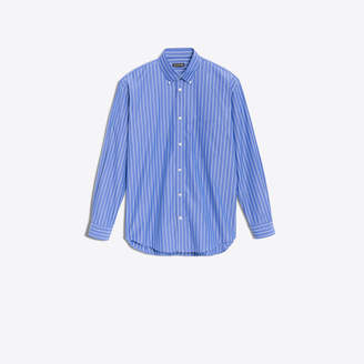 Balenciaga Cotton poplin shirt with back logo