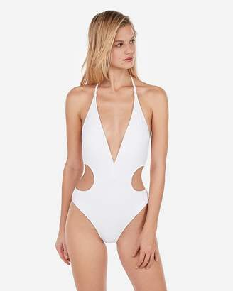 Express Cut-Out One-Piece Swimsuit