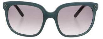 Chloé Oversize Logo Sunglasses