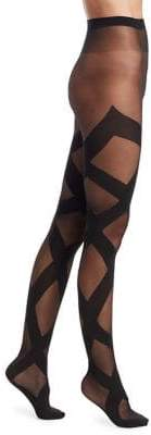 Wolford Anita Pattern Knee Highs