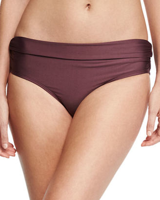 Luxe by Lisa Vogel Premier High-Waist Banded Swim Bottom $58 thestylecure.com