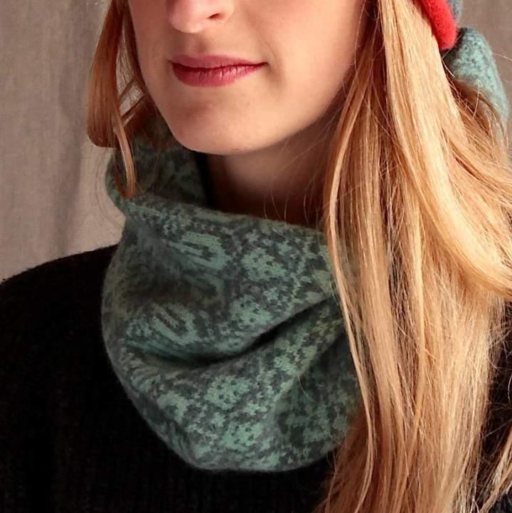 Suzie Knitwear Cosy Knitted Wool Snood