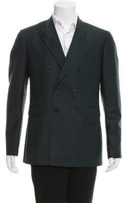 Burberry Mohair & Wool Double-Breasted Blazer w/ Tags