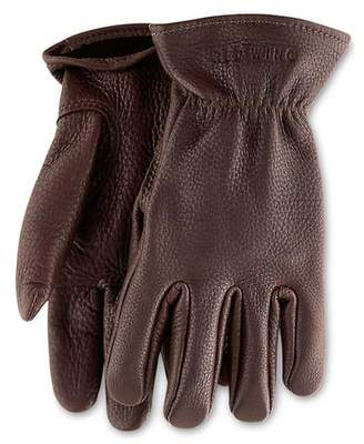 Red Wing Shoes Shoes Buckskin Unlined Leather Glove in Brown