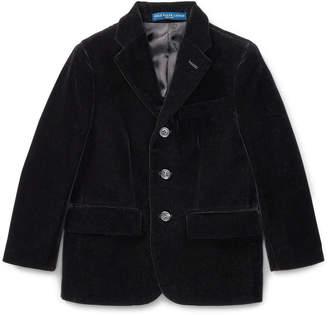 Ralph Lauren Polo II Velvet Blazer, Size 4-6