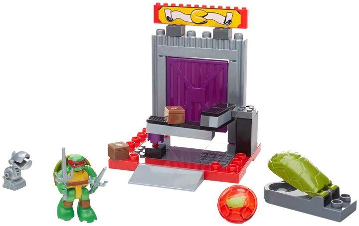 Mega Bloks Teenage Mutant Ninja Turtles Half-Shell Heroes Cookie Factory Battle Playset