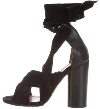 Isabel Marant Wraparound Suede Sandals