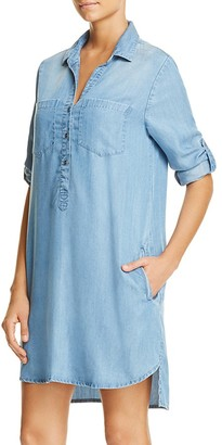 BeachLunchLounge Phoebe Chambray Shirt Dress - 100% Exclusive $78 thestylecure.com