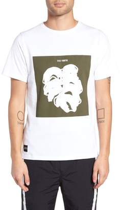 NATIVE YOUTH Placement Print T-Shirt