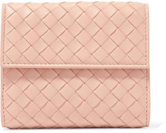 Bottega Veneta Intrecciato Leather Wallet - Blush
