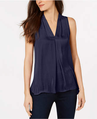 Vince Camuto Inverted-Pleat Top