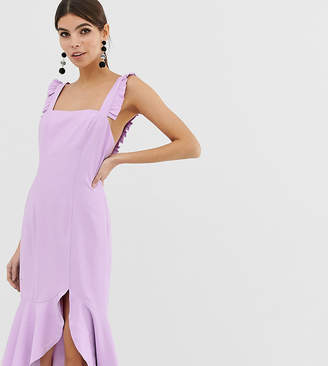 Finders Keepers Exclusive frill midi dress