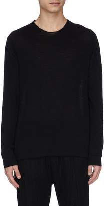 Devoa Wool-alpaca raglan sweater