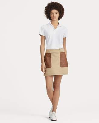 Ralph Lauren Water-Repellent Golf Skort