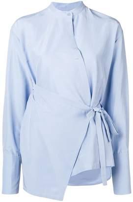 Christian Wijnants asymmetric wrap shirt