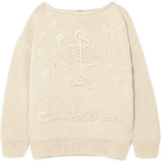 Oversized Cashmere Sweater - Cream
