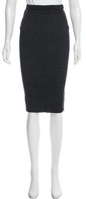 No.21 No. 21 Patterned Bodycon Skirt