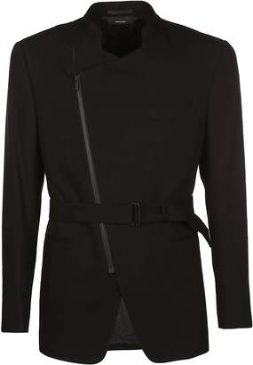 Issey Miyake Asymmetric Zip Jacket