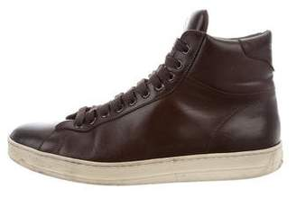 Tom Ford Russel High-Top Sneakers