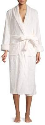 Natori Plush Long-Sleeve Robe