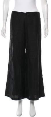 Ralph Lauren Linen Mid-Rise Pants
