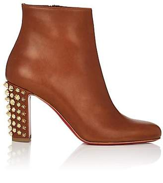 Christian Louboutin Women's Suzi Leather Ankle Boots - Cuoio