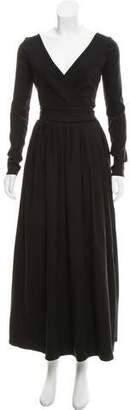 Preen by Thornton Bregazzi Preen Long Sleeve Evening Dress