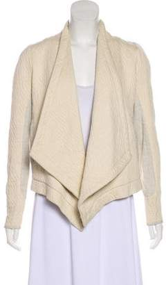 Ulla Johnson Quilted Open-Front Jacket