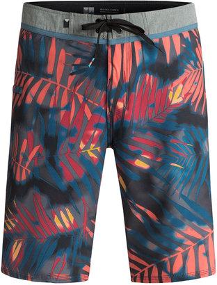 "Quiksilver Men's Palm Shade Tropical-Print 21"" Swim Trunks $49.50 thestylecure.com"