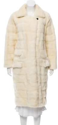 J. Mendel Mink Long Coat