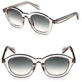 Celine Smoke Molded Round Sunglasses