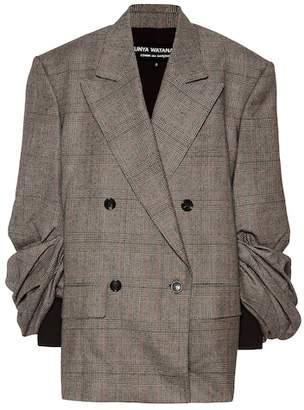 Junya Watanabe X COMME DES GARÇONS wool and cotton blazer