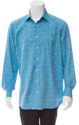 Etro Paisley Dress Shirt